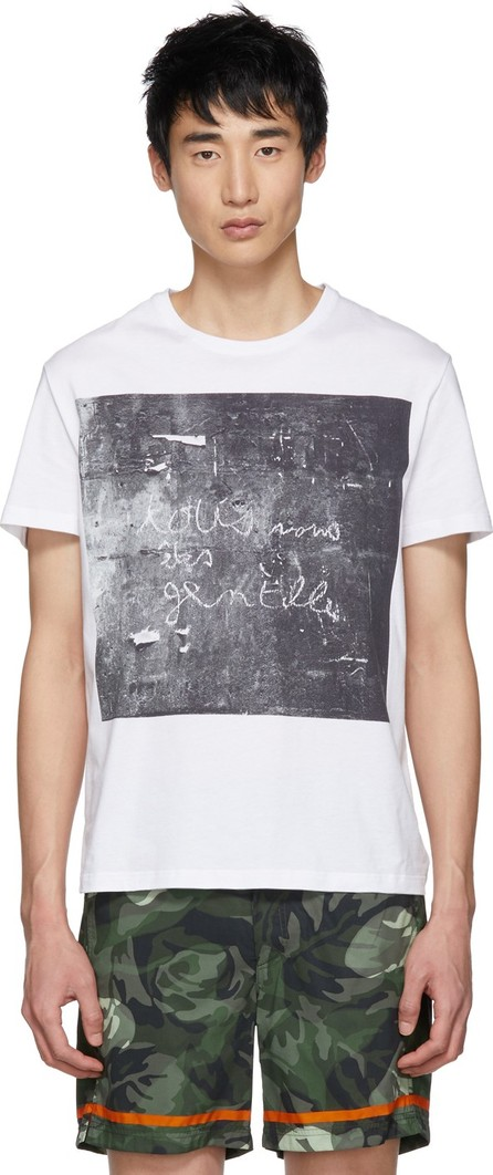 Alexander McQueen White John Deakin Archive Edition 'You Are All Nice' T-Shirt