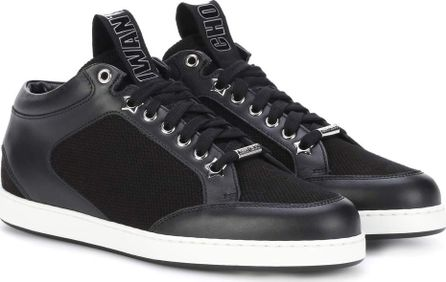 Jimmy Choo Miami leather sneakers