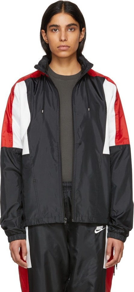 Nike Black & Red NSW Re-Issue Woven Jacket
