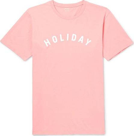 Holiday pink t-shirt