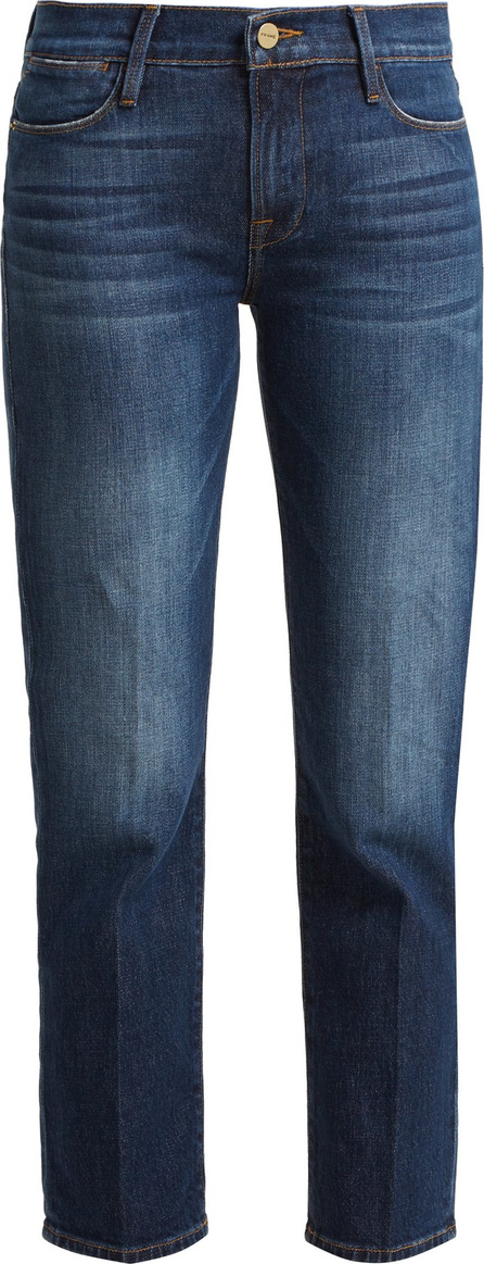 FRAME DENIM Le High mid-rise straight-leg jeans