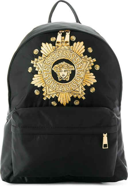 Versace Embroidered backpack