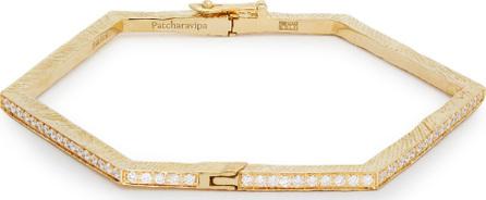Patcharavipa 18kt gold & diamond bracelet