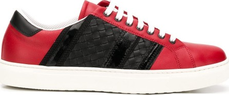 Bottega Veneta Panelled lace-up sneakers