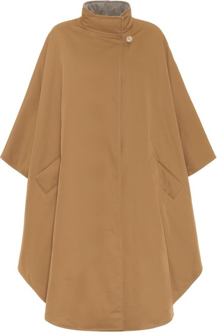 THE ROW Maha reversible cotton down cape