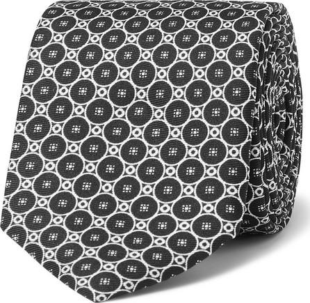 Dolce & Gabbana Printed Silk-Faille Tie