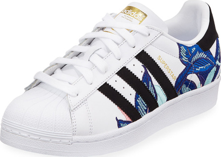 Adidas Superstar Embroidered Sneakers
