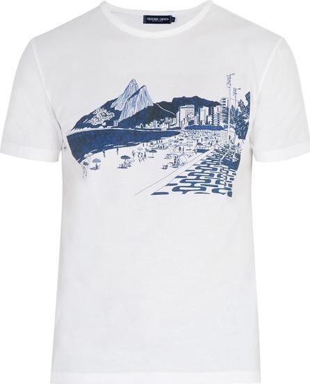 Frescobol Carioca Beach Scene T-Shirt