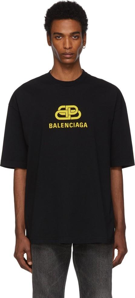 Balenciaga Black & Yellow BB T-Shirt