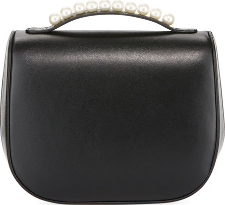 Simone Rocha Leather Box Bag with Pearly Studs