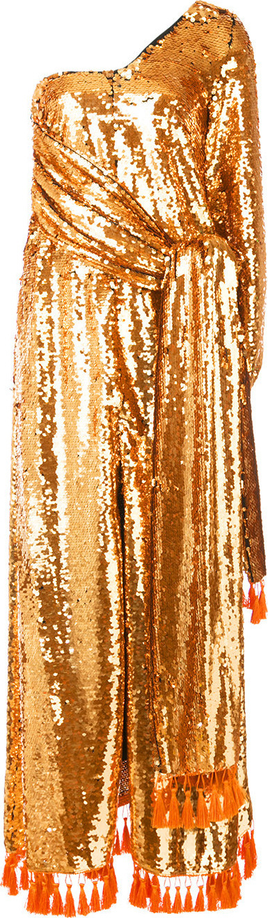 Sachin & Babi Chacedony sequin gown