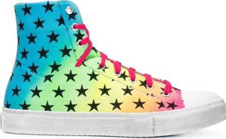 Amiri Star print high top sneakers