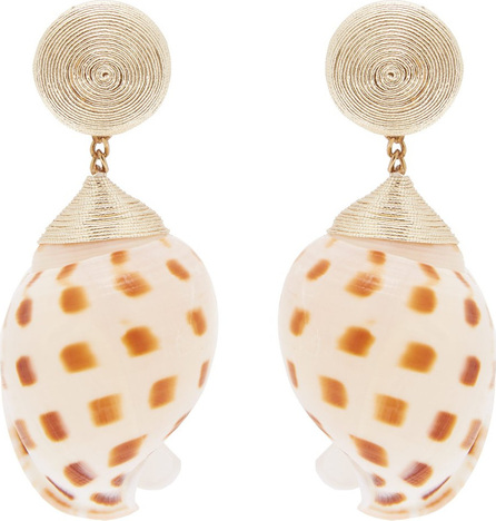 Rebecca de Ravenel Ophelia shell earrings