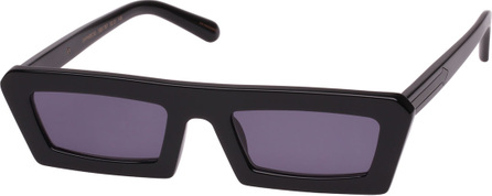 Karen Walker Shipwrecks Slim Rectangle Sunglasses