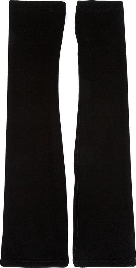 I.D. Sarrieri Velvet long fingerless gloves