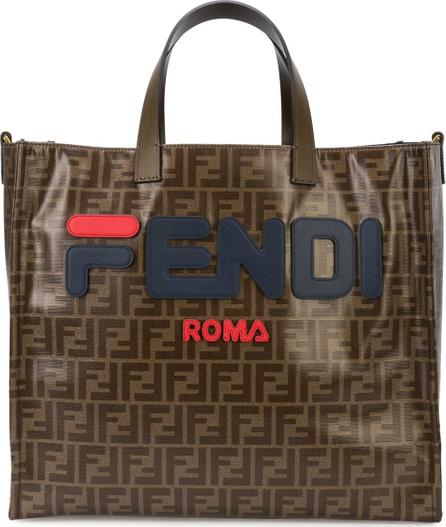 Fendi Logo print large toe bag
