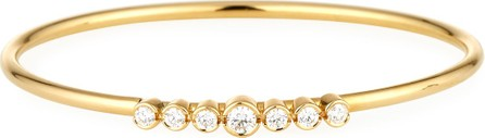 A. Link for Forevermark 18K Gold Bracelet with Diamond Bezels