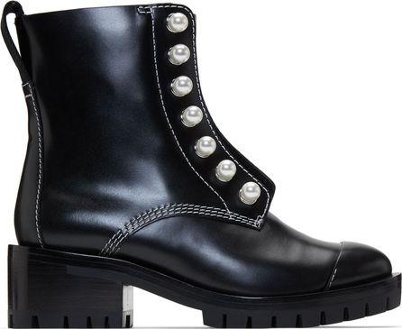 3.1 Phillip Lim Black Lug Boots