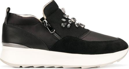 Geox Crystal embellished sneakers