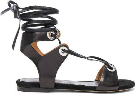 Isabel Marant Leather Jaysta Sandals