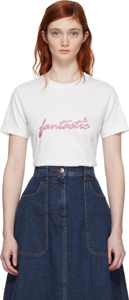 Alexachung White 'Fantastic' T-Shirt
