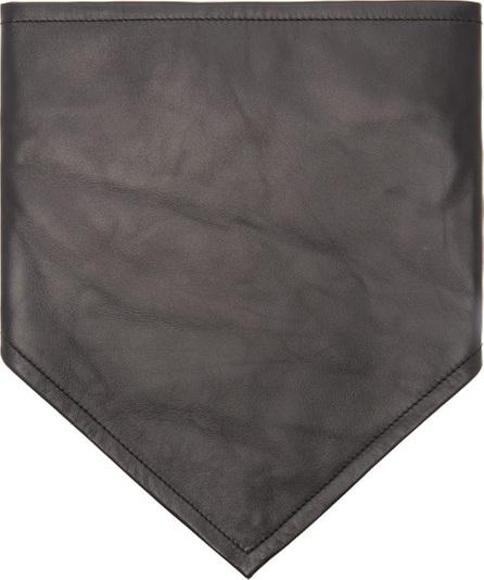 Calvin Klein 205W39NYC Logo-embroidered leather bandana
