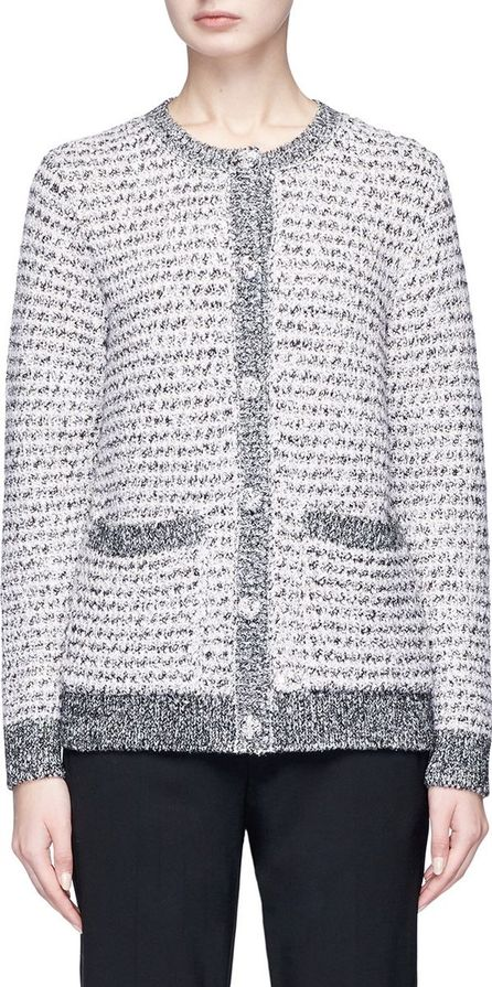 Lanvin Marled tweed effect cardigan