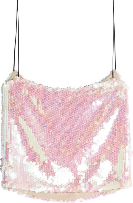 Sandy Liang Scales Sequin Camisole