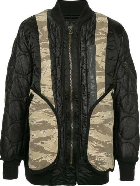 FACETASM Camo Mix MA-1 jacket