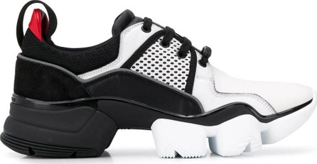 Givenchy Black and white jaw sneakers