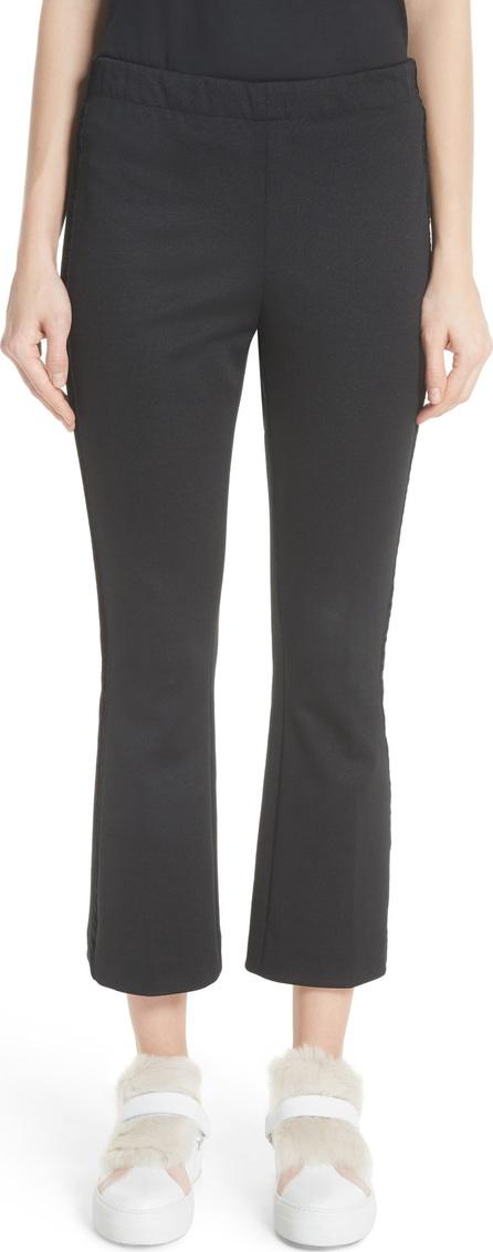 Moncler Velvet Trim Crop Pants