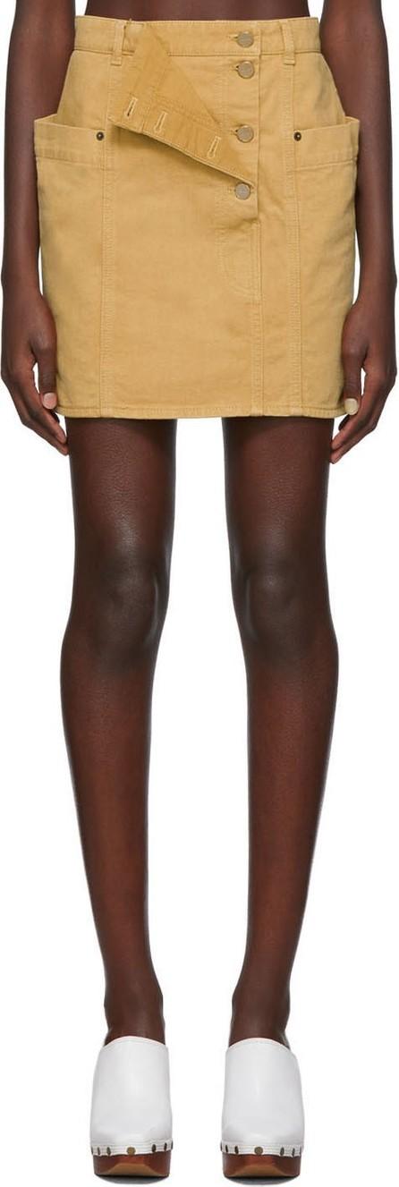 Jacquemus Brown 'La Jupe de Nîmes' Miniskirt