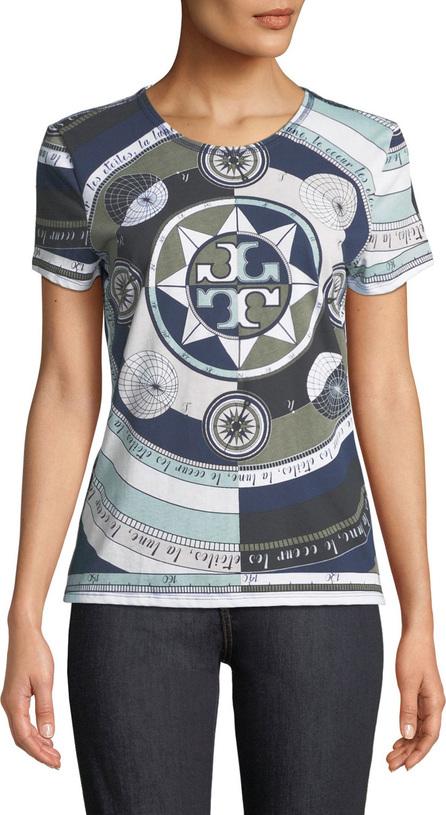 Tory Burch Louis Octagonal-Print T-Shirt
