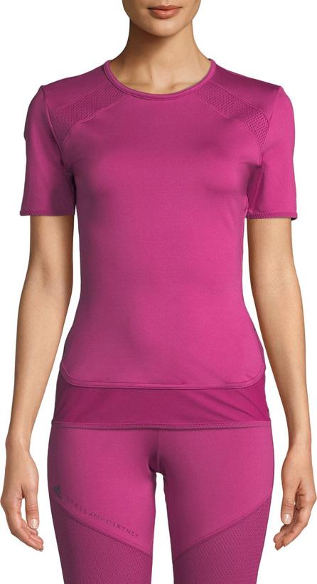 Adidas By Stella McCartney Performance Essentials Crewneck Short-Sleeve T-Shirt Top