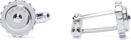 Prada Cog-effect cufflinks