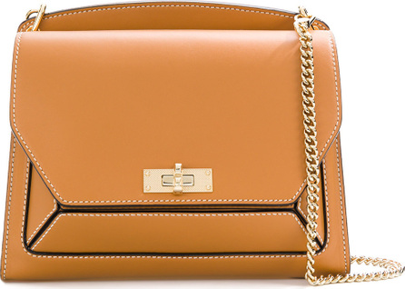 Bally Chain strap panelled bag