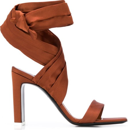 The Attico Tie-fastening ankle sandals
