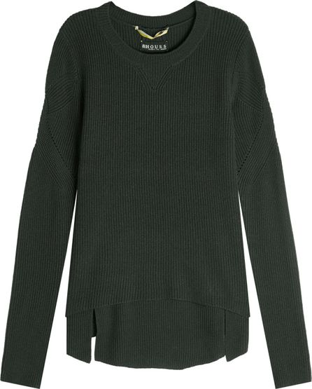 81hours Superfine Wool Ribbed Pullover