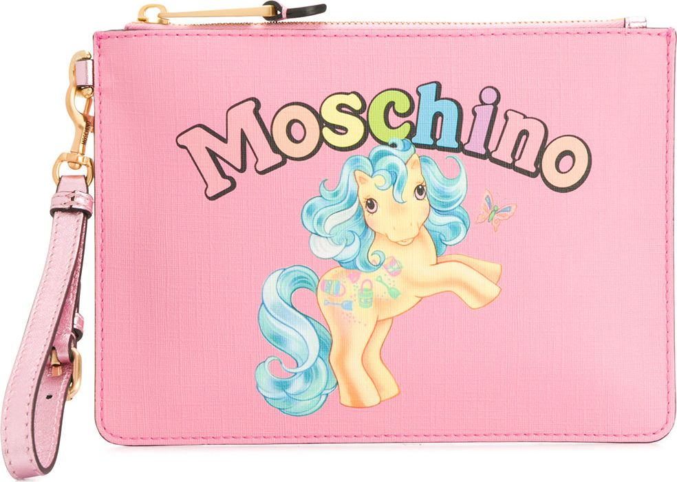 Moschino - My Little Pony clutch bag