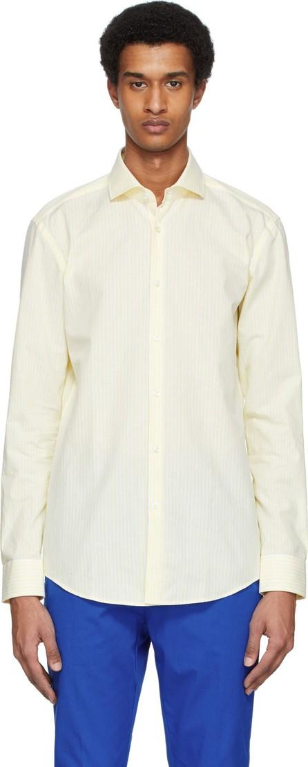 HUGO Yellow & White Kason Shirt