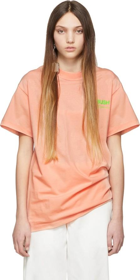 Ambush SSENSE Exclusive Pink Logo T-Shirt