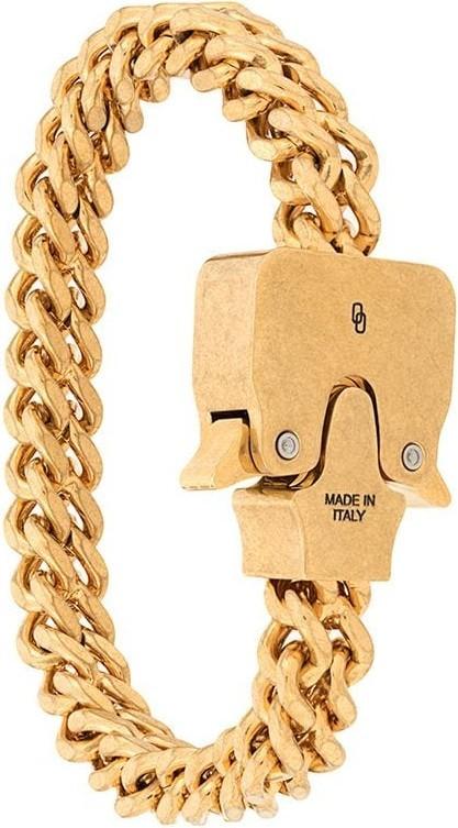 1017 ALYX 9SM Chain link buckle bracelet