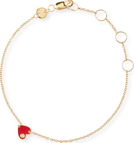 Jennifer Zeuner Jewelry Mia Enamel Bracelet  Red