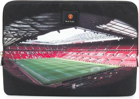Paul Smith X Manchester United stadium print laptop case