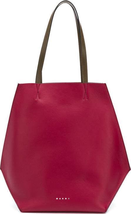 Marni Colour block shopper tote