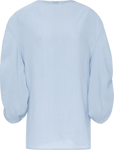 Jil Sander Faustine Gathered Sleeve Top