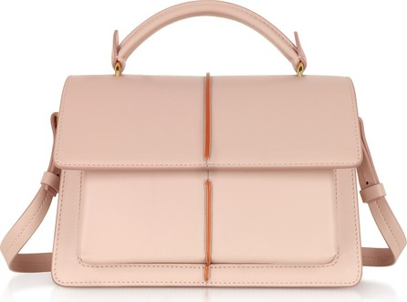 Marni Smooth Leather Top Handle Attaché Bag