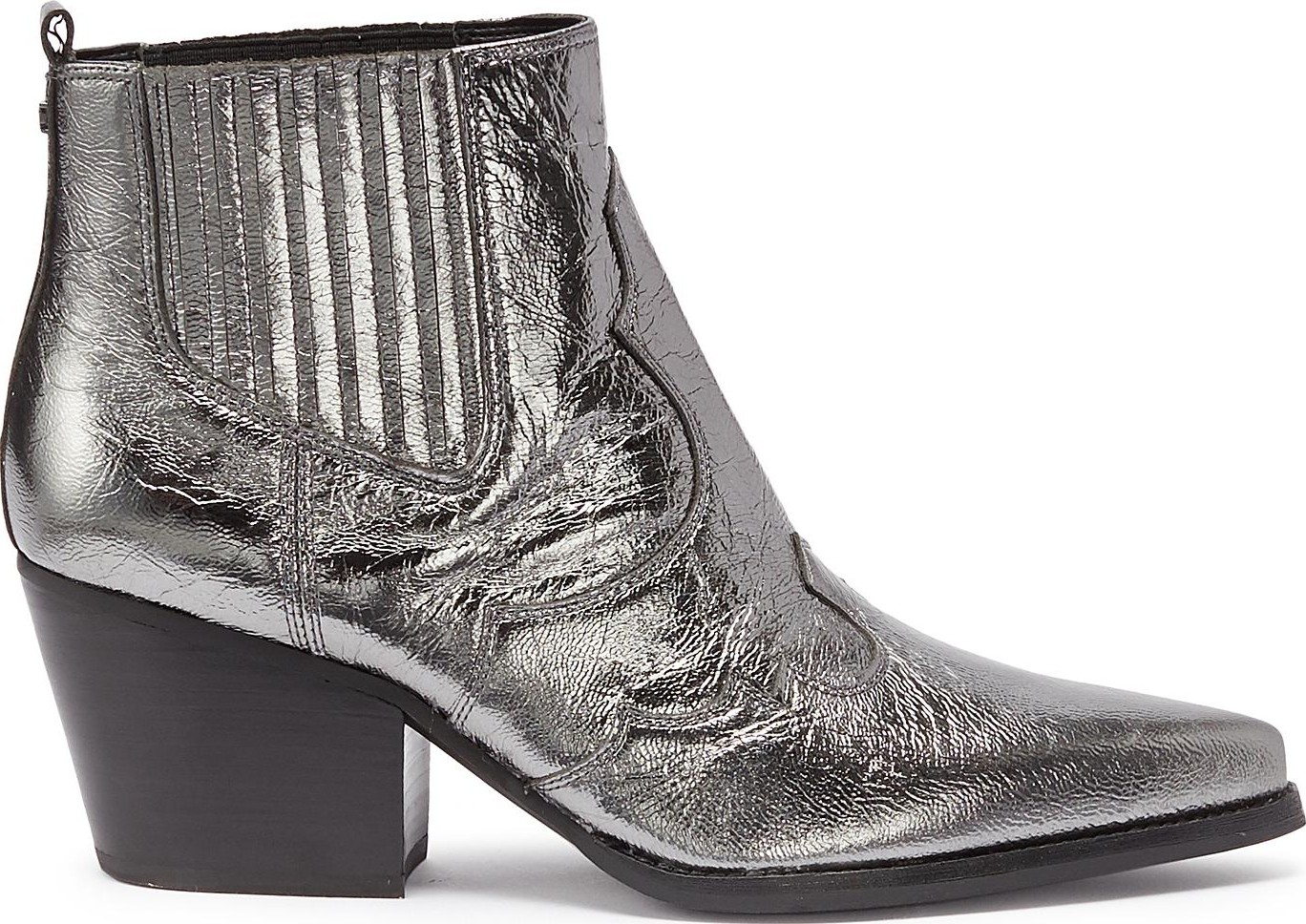 cabc877bf Sam Edelman  Winona  patent leather panelled ankle boots - Mkt