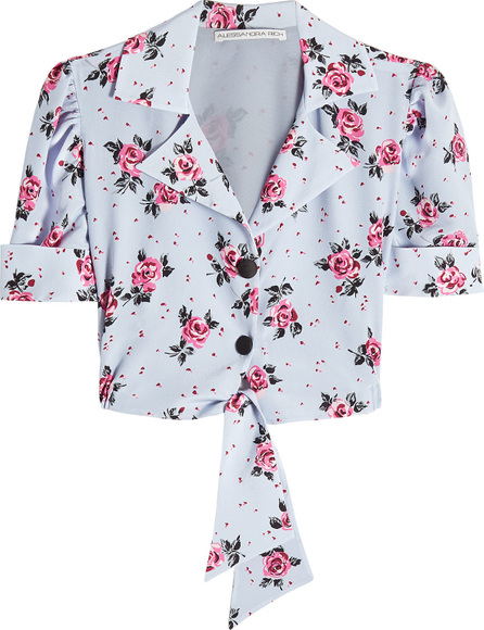 Alessandra Rich Printed Blouse