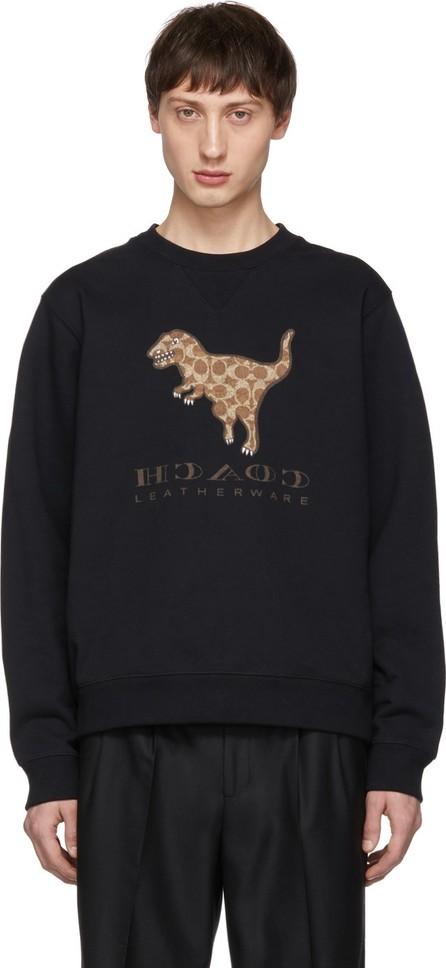 COACH 1941 Black Signature Rexy Sweatshirt